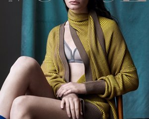 Vogue Ukraine, October 2019 Cover ph: Vanina Sorrenti model: Carolina Burgin fashion editor: Julie Ragolia hair…